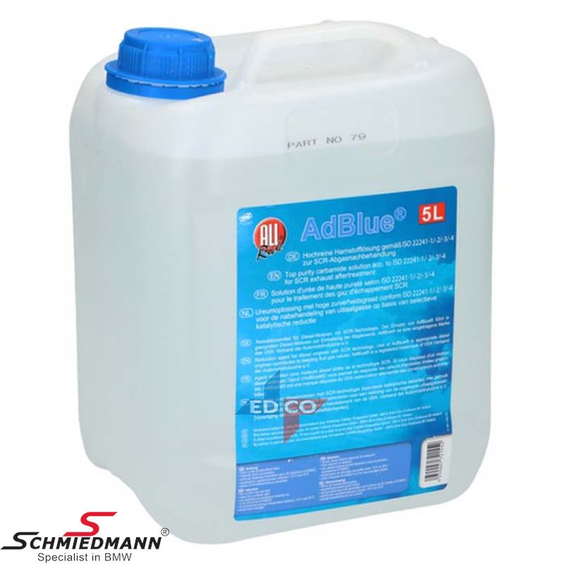 AdBlue® Diesel exhaust fluid 5L.