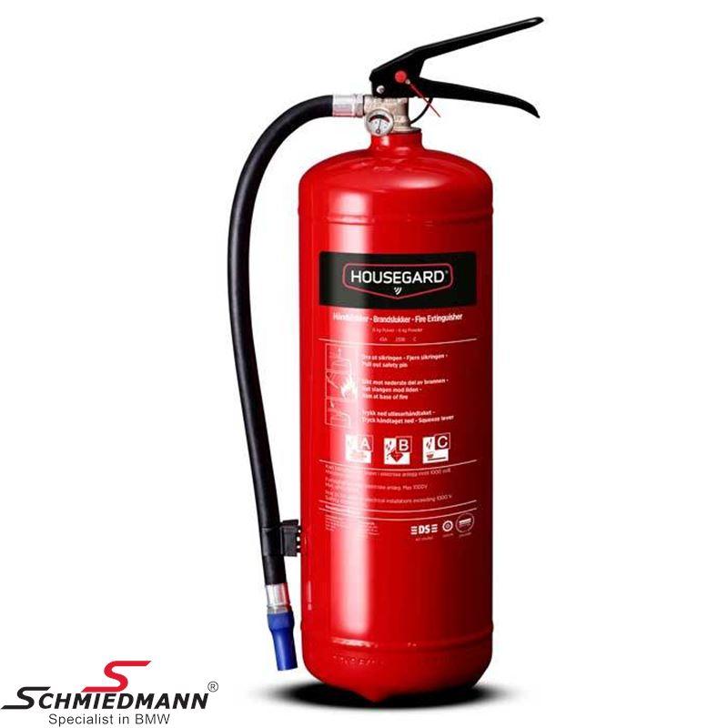 Fire extinguisher dry-powder 6kg.