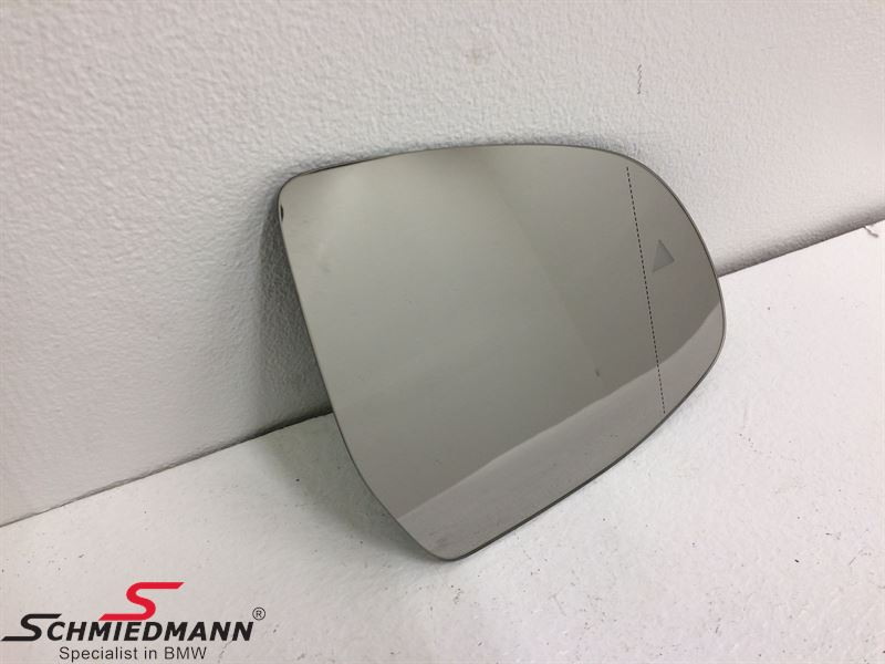Side-view mirror glass wide-angle and heated R.-side (For models with Driving assistant S5ASA/S5AUA)
