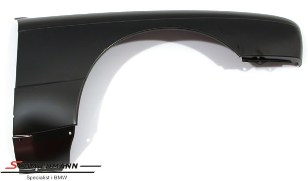 Sidefender without hole for side indicator R.-side