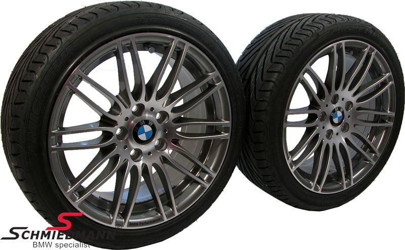"""36112181237H 36112181237 36 11 2 181 237  19"""" 8+9x19 alufælge BMW Performance Dopp.Sp.269 m.225/35+255/30/19 (original BMW)"""