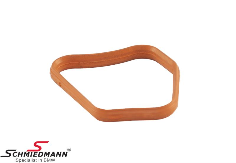 Profile gasket for thermostat housing