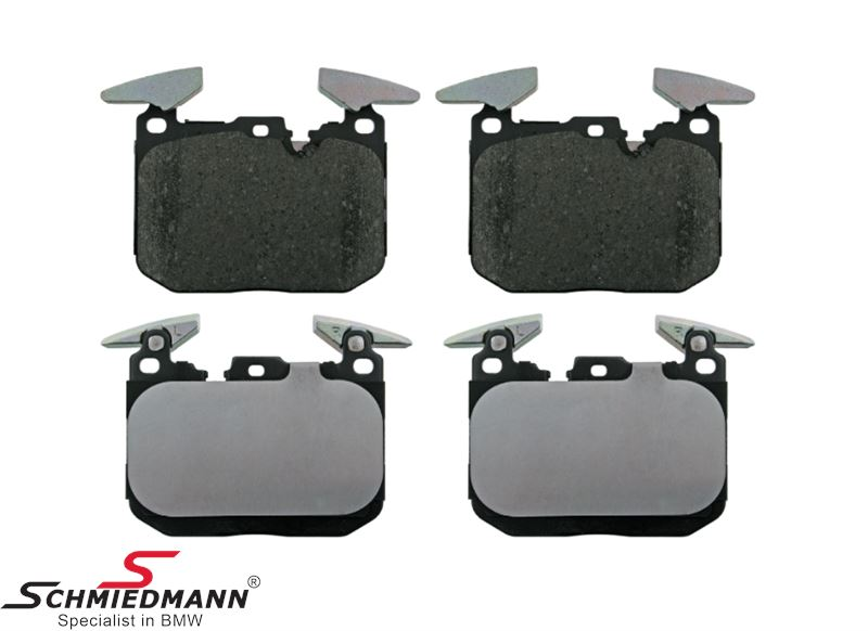 Brake pads front (For models with M-Sport brakes)