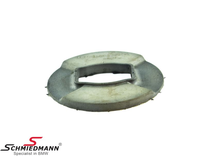 Damping washer for rear axle