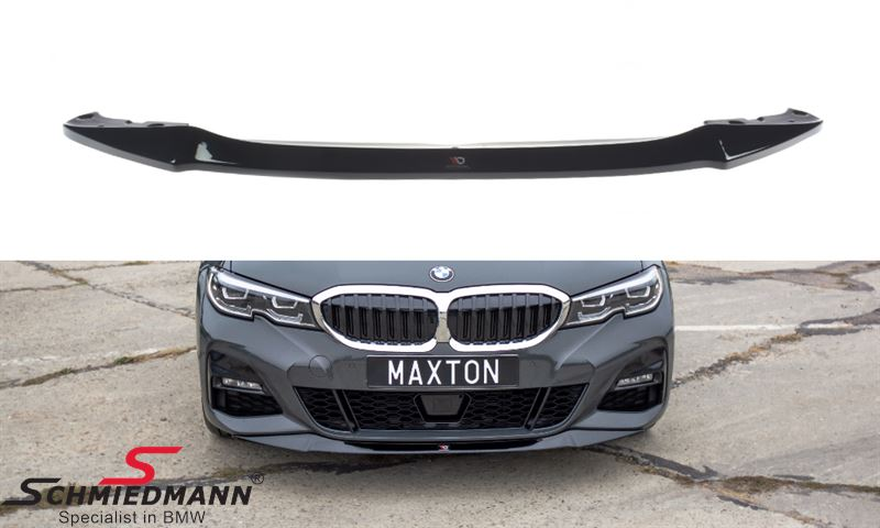 Maxton Design front splitter V.1 gloss black