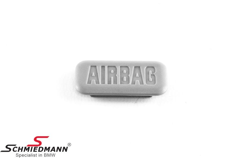 """Cover """"Airbag"""" for column cover, gray"""