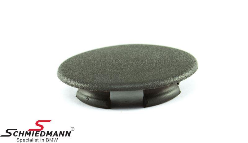 Plug for door upholstery, nutria