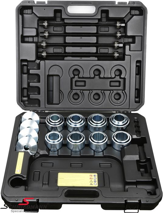 Bush remover/installer special tool set (36 pcs.)