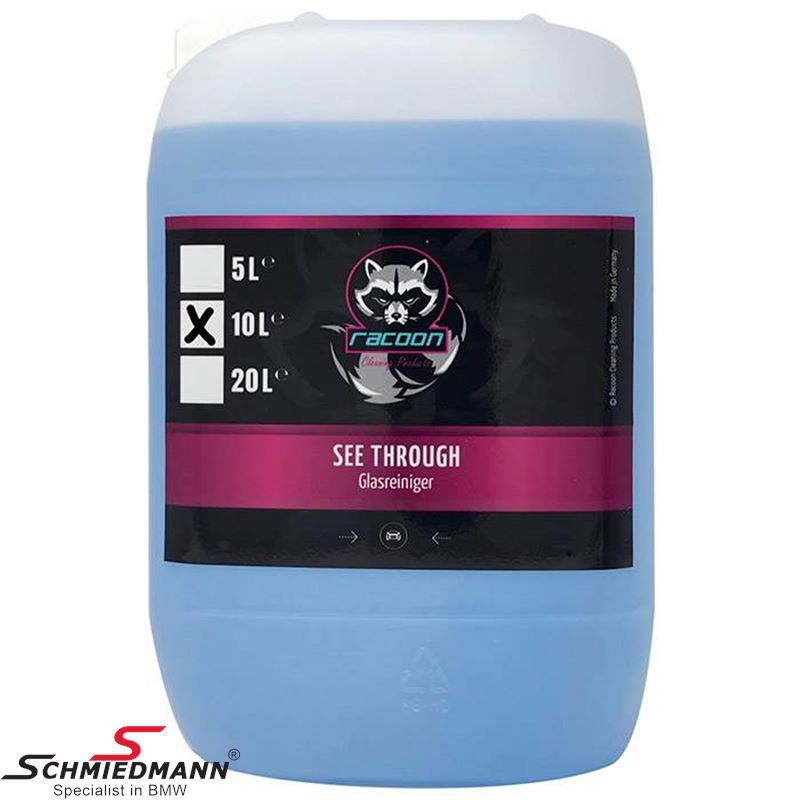 Racoon see through - glass cleaner 10L.