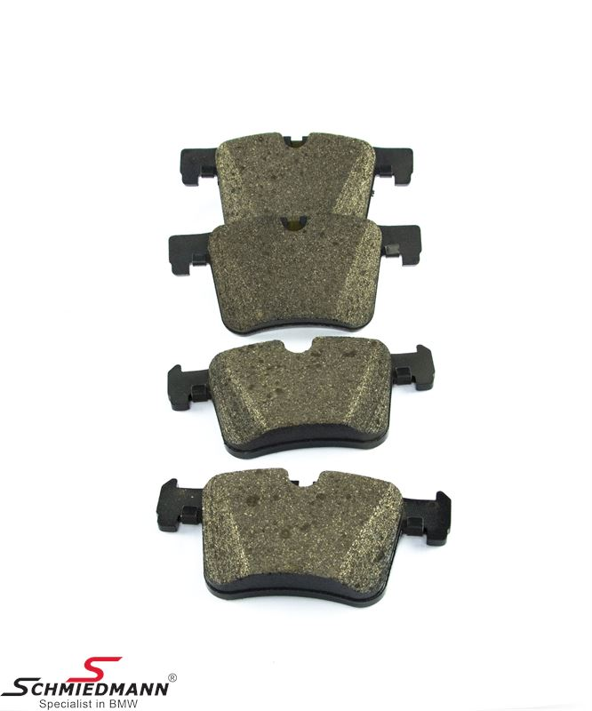 Brake pads front, original BMW
