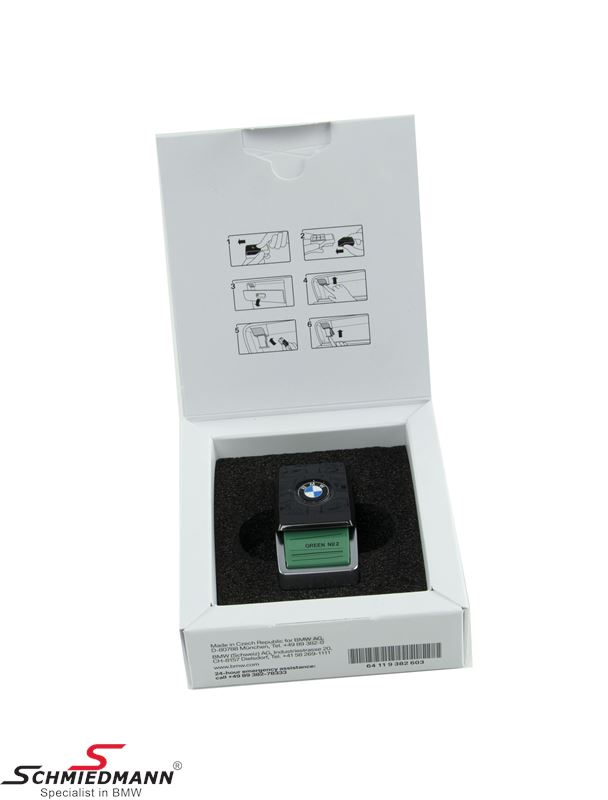 Ambient air scent Green Suite No. 2 - original BMW (For models with Ambient Air package S4NMA)