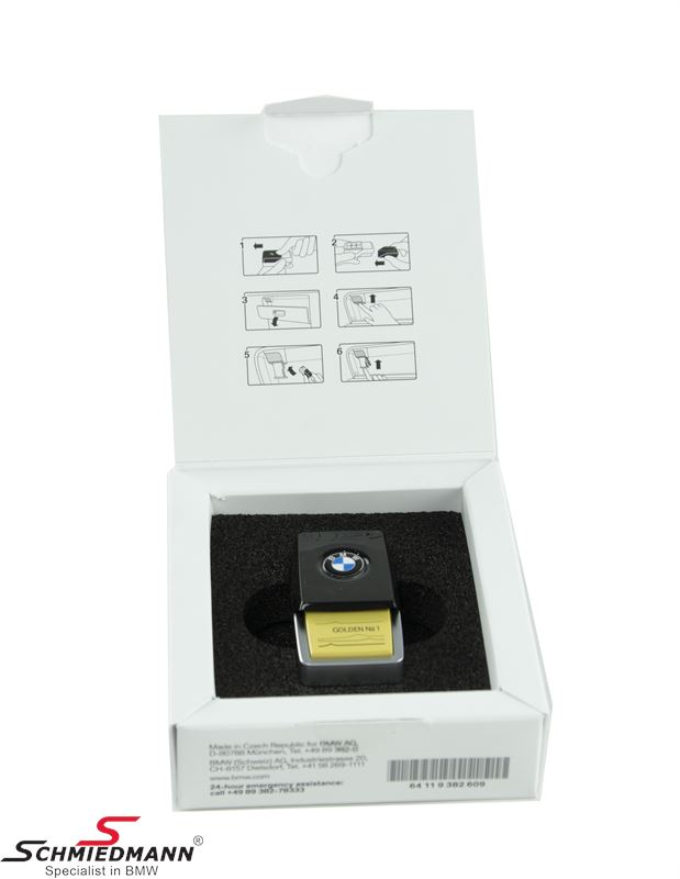 Ambient air scent Golden Suite No. 1 - original BMW (For models with Ambient Air package S4NMA)