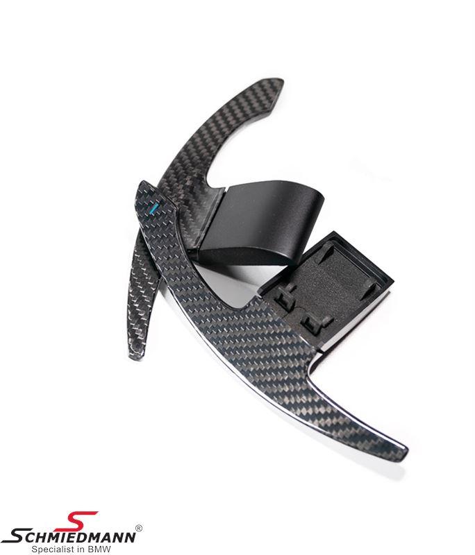 PaddleShifterz Carbon fiber paddle shift set (Blue +/-)