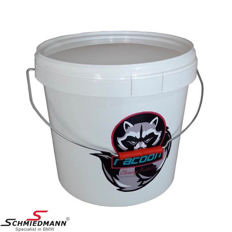 Racoon wash bucket with lid 18L.
