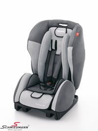 Barnstol original Recaro -Young Expert plus- med Isofix option asfalt/grå