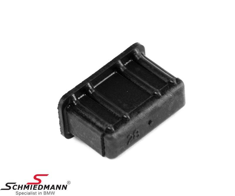 Support  for radiator rubber mount, upper