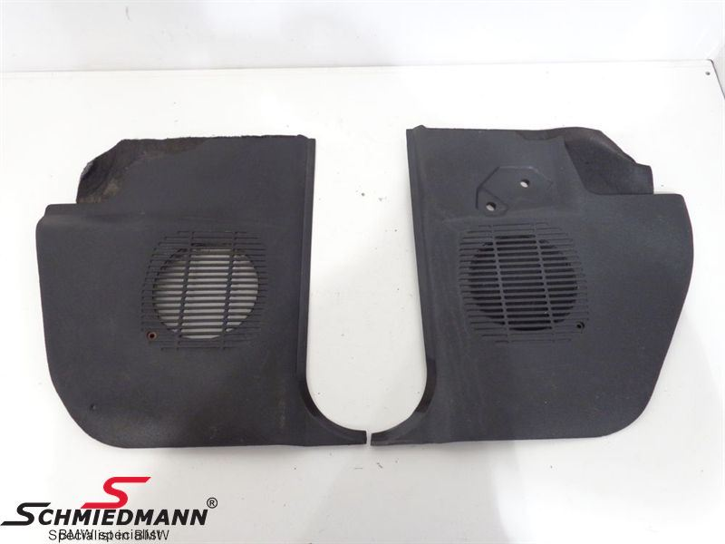 C41988  Covers by front loudspeakers black set 2pcs left + right