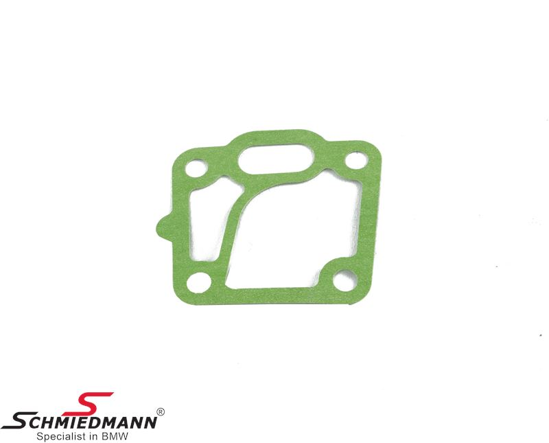 Gasket for oilfilter-housing against the engine block
