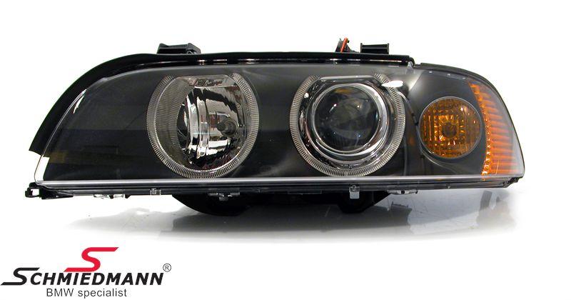 Forlygte facelift 2000 M.-gult blink original Hella V.-side