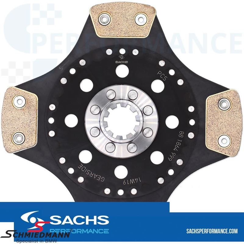 Sachs Performance Sintermetal (Race) koblingsplade D=228MM