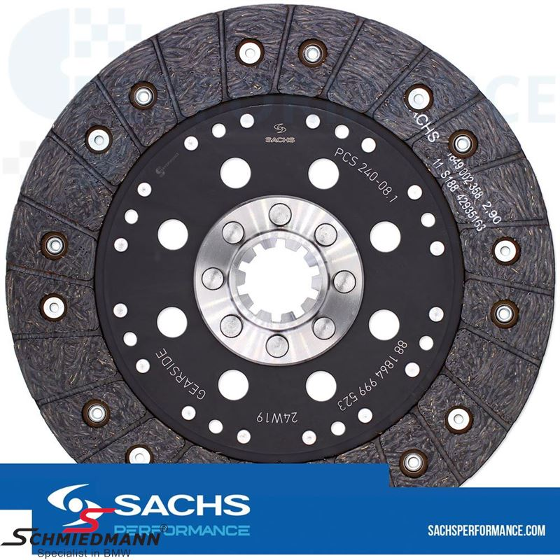 Sachs Performance organic clutch D=240MM