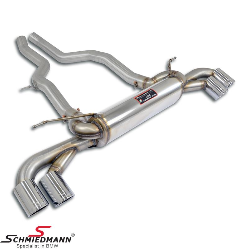 Supersprint Rear exhaust Right OO80 - Left OO80