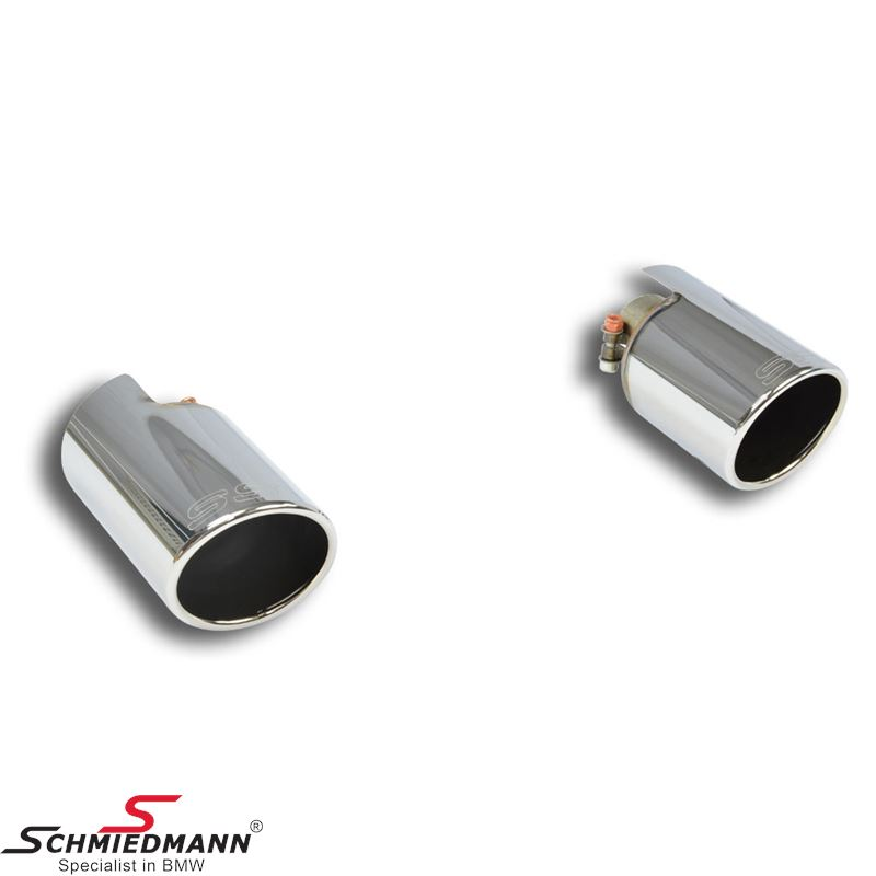 Supersprint Endpipe kit Right O100 - Left O100