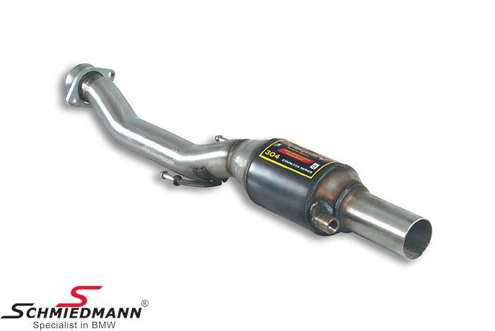 Supersprint Front pipe with Metallic catalytic converter