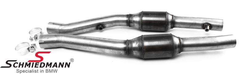 Supersprint Front  Metallic catalytic converter Right - Left