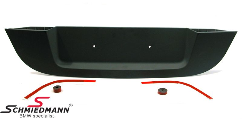 M5 trunk lid insert original BMW (fits standard trunk lid)
