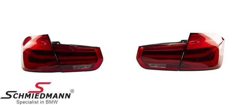 Baglygte-sæt røde facelift upgrade LED (skal ikke kodes)