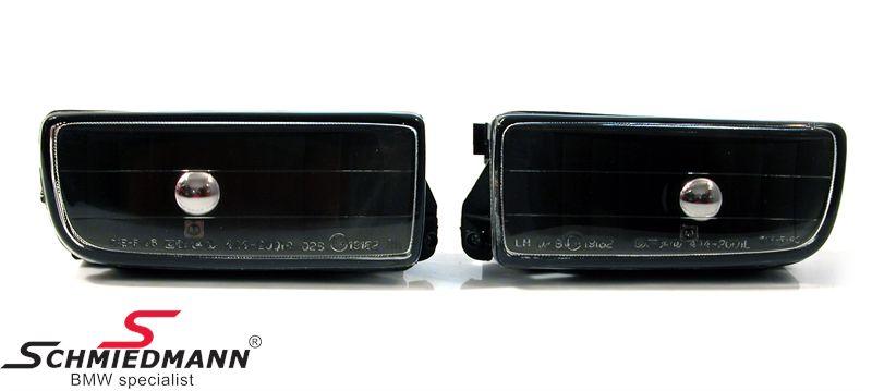 Nebelscheinwerfer Klarglas H1 Shadowline -Dark Edition-
