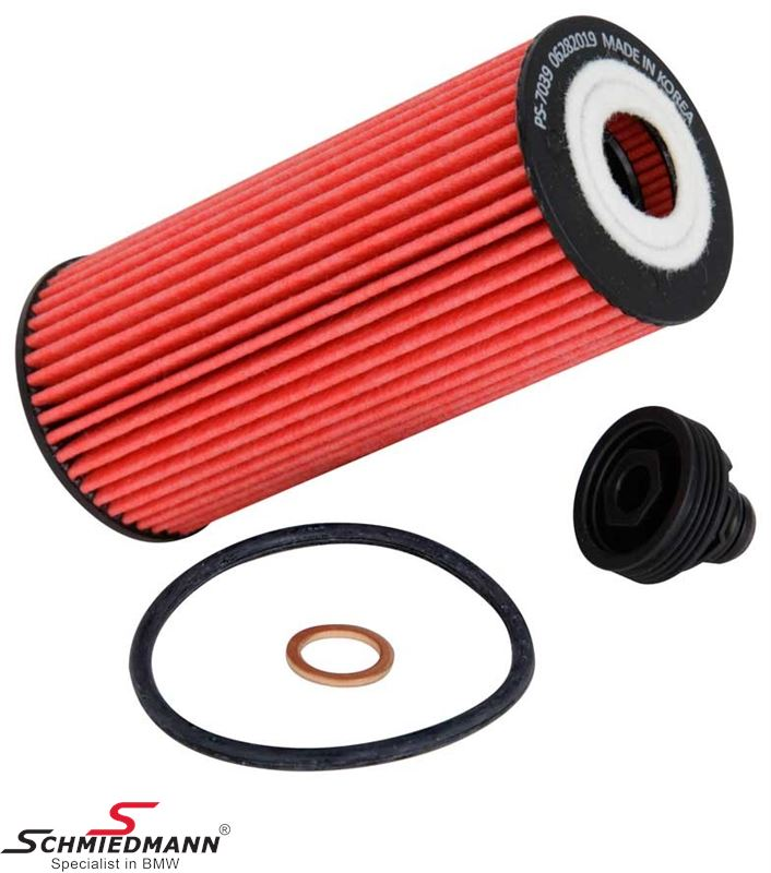 K&N performance Oilfilter with Nitrile gasket