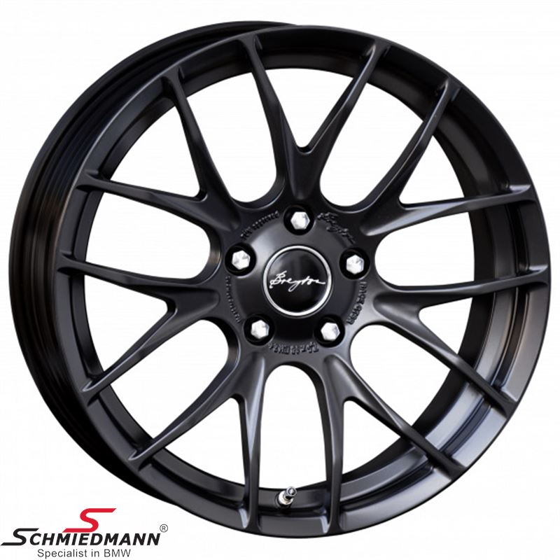 Breyton Race GTS-R Matt Black 7,0 X 17""