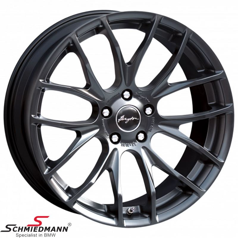 Breyton Race GTS Matt Black 8,5 X 18""