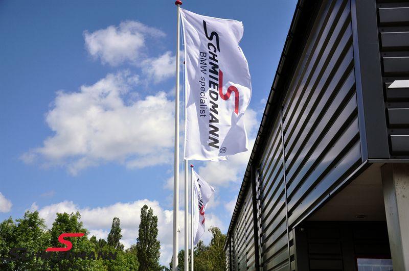 Schmiedmann Logofahne