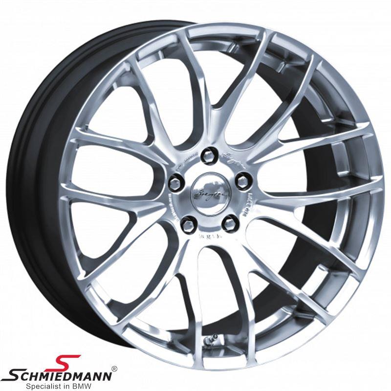 "Breyton Race GTS Hyper Silver 9,5 X 19"""