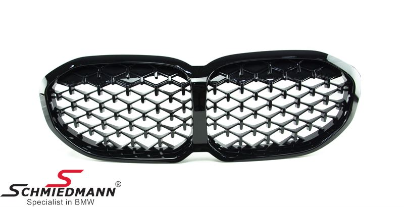 Kidney Diamond pattern - original -BMW - Shadowline