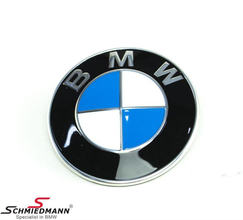 Emblem -BMW- Ø82MM Front