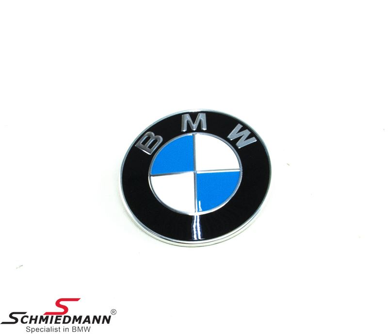 Emblem -BMW- Ø74MM Trunk lid