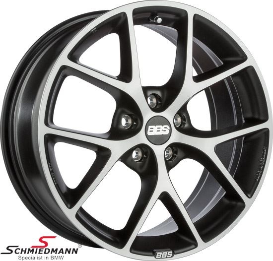 BBS Design Line SR 041 volcano-grey diamondcut 8X18""