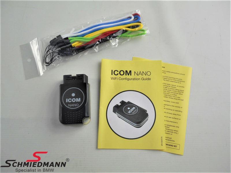 ICOM Nano - original BMW (værktøj på forhandler niveau undersøg venligst selv detaljer omkring produktet inden bestilling, Schmiedmann har ingen informationer omkring brugen eller kompatibilitet