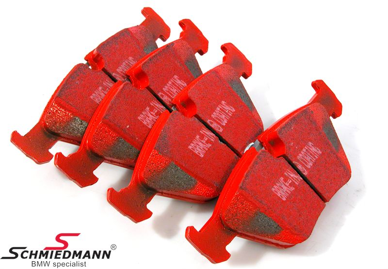 Racing brake pads front EBC red stuff (for road and extreme driving)
