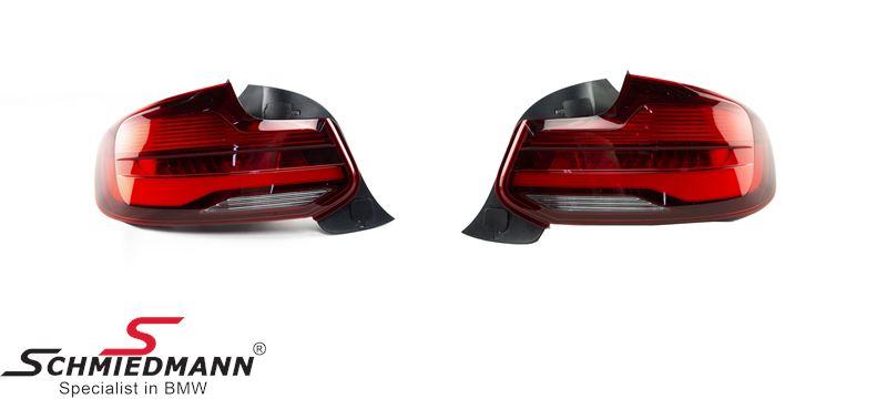 Taillights -Blackline- LCI facelift upgrade retrofit kit - original BMW