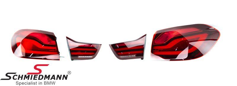 Taillight set -Blackline- LCI facelift upgrade retrofit kit - Original BMW
