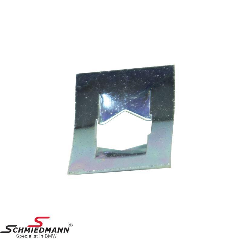 Klammer Metal für M.-Tech Stossleisten