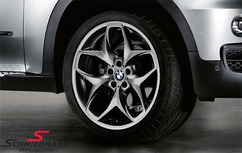 """21"""" Doppelspeiche 215 sort fælge 10X21 (original BMW)"""