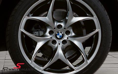 """21"""" Doppelspeiche 215 Ferricgrey fælge 11,5X21 (original BMW) (passer kun bag)"""