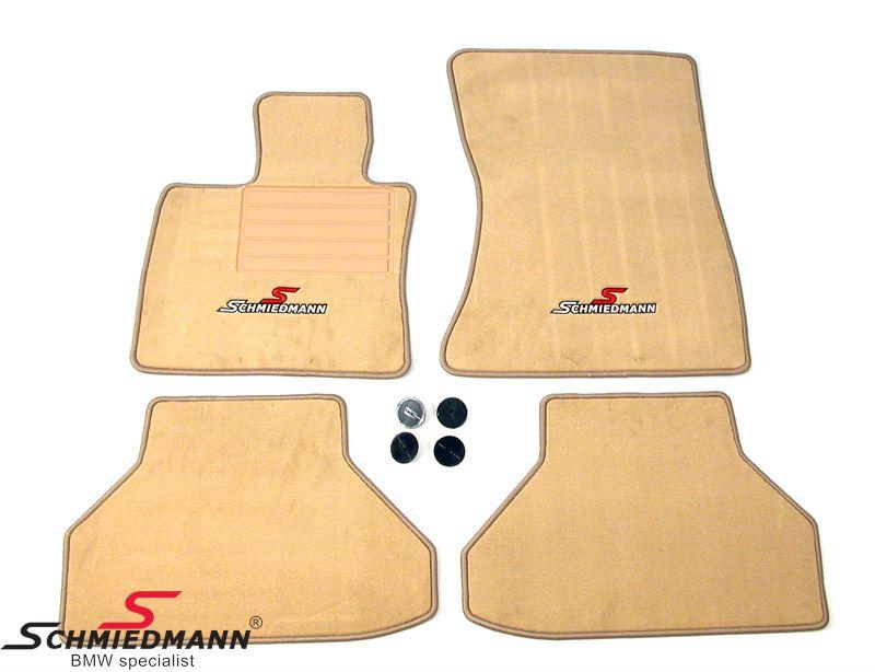Bundmåtter for/bag original Schmiedmann -Sport Edition- beige