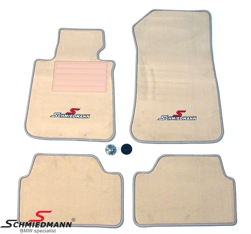 Schmiedmann -Sport Edition- beiget lattimatot eteen/taakse